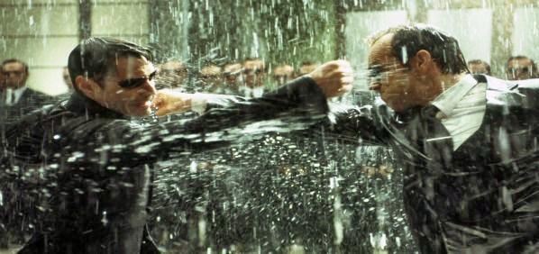 A matrix está se dissipando