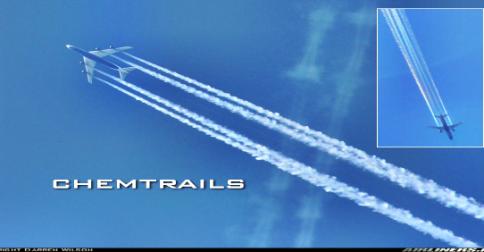 Chemtrails - Trilha química - o perigo está controlado