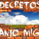 Decretos de Arcanjo Miguel