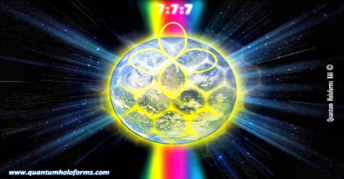 Uma apaixonada mensagem da Mãe Gaia e o portal 7:7:7