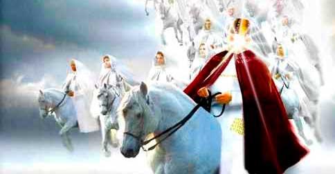 Eu sou CRISTO, e eu lhes digo: eu chego em meu Cavalo Branco