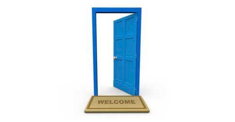 A porta do novo está aberta