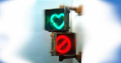 Não faz sentido procurar o amor e negá-lo ao mesmo tempo