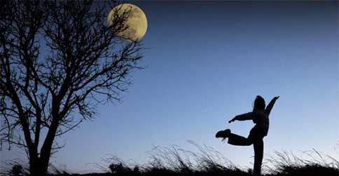 Dance sob a Luz da lua