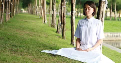 Meditação da prática do alinhamento