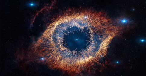 Os olhos do Universo observam o seu caminho