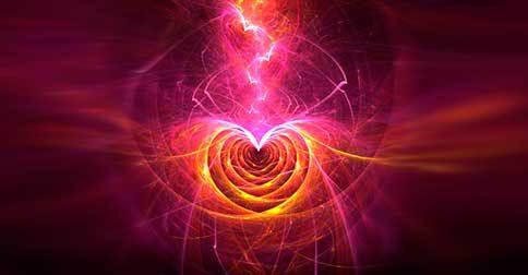 Há uma onda de energia em redor do coração, que entrou em seu planeta