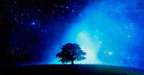 A pura Luz do centro da galáxia da Via Láctea irá se mover com grande impulso para a Terra