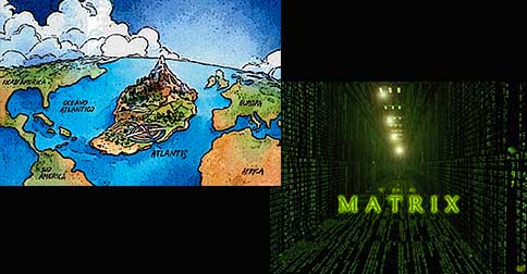 A verdadeira história do fim da Atlântida e o começo da Matrix - Maria, Arcanjo Metraton, Arcanjo Miguel e Mestre El Morya - 1° parte