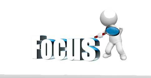 Concentre-se no que é mais importante para você