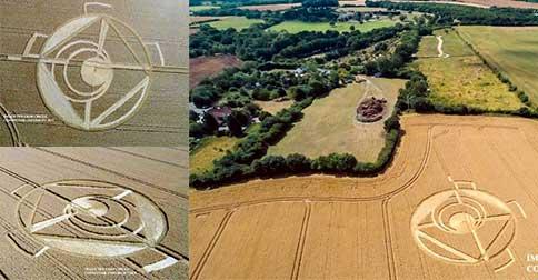 Crop circle - 21 de julho 2015 - Reino Unido