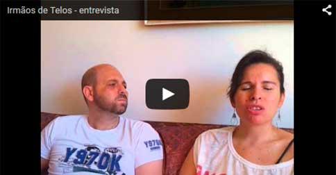 Irmãos de Telos - Terra oca - entrevista