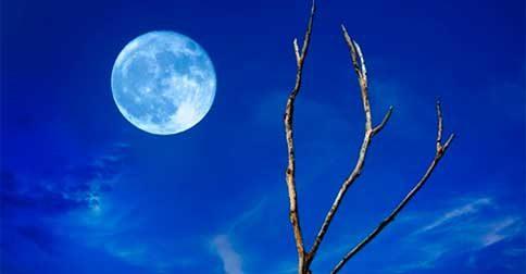 O efeitos que causam a Lua cheia