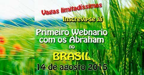 primeiro webnario com os abraham