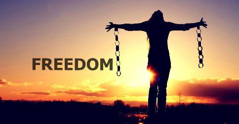 A liberdade vos será restaurada