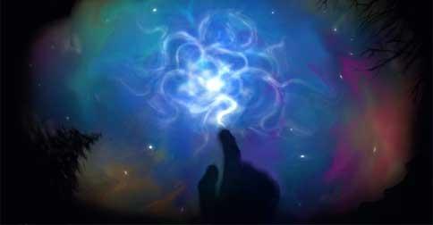 Fazendo  a conexão interna com a sua Centelha Divina