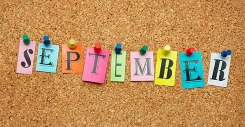 Setembro chegou... Estão preparados?