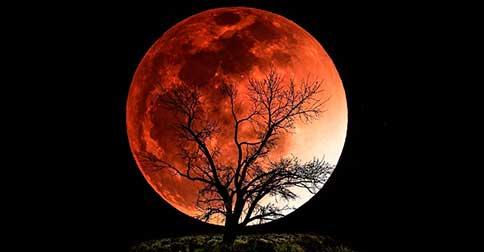 Um eclipse lunar em 28 de setembro coincide com uma Super Lua
