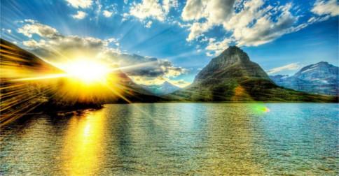 A abertura na superfície do sol que liberou radiação para a Terra