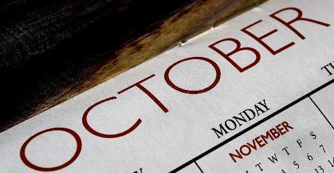 Mês de outubro - poderá parecer um mês onde FALSOS inícios e frustrações governam