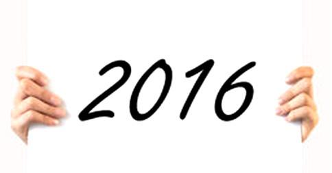 2016 – Como será o próximo ano que vem aí?