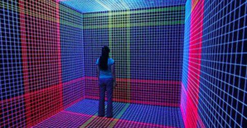 Liberar o pensamento tridimensional para entrar numa outra realidade
