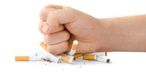 Como para de fumar