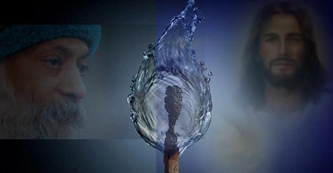 Osho e Jesus - O fogo e a água, o início e o fim de uma transformação