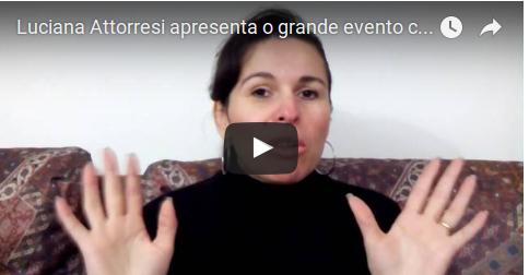 Luciana Attorresi apresenta o grande evento com Divina Maria