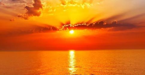 O fluxo constante de energia através do Sol