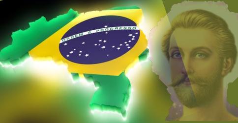 Saint Germain - Uma mensagem nesta data para o Brasil