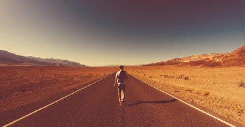 Você sempre está trilhando o melhor caminho