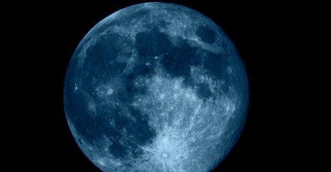 Qual é a importância de uma lua azul astrológica?