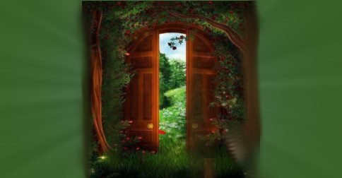 O portal mágico se abre