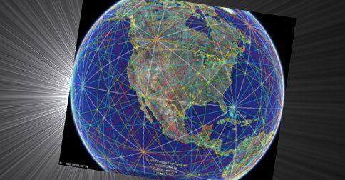 Linhas ley são como veias de Gaia