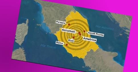 Saint Germain - O terremoto na Italia