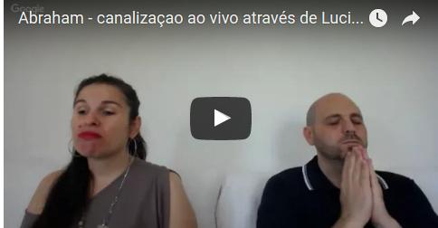 Abraham - canalização ao vivo através de Luciana Attorresi - 25.09.2016