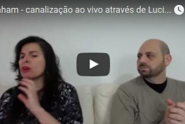 Abraham – canalização ao vivo através de Luciana Attorresi – 02/10/2016