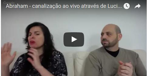 Abraham - canalização ao vivo através de Luciana Attorresi - 02.10.2016