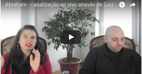Abraham – canalização ao vivo através de Luciana Attorresi – 20/11/2016