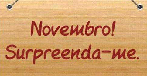 O que se espera deste mês de novembro de 2016?