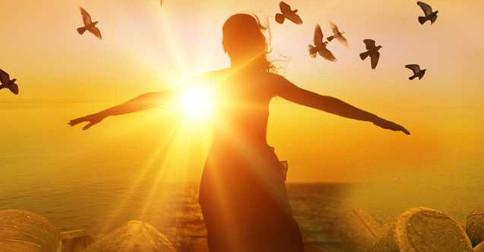 Portal do poder do Feminino - abertura que ocorre no Sagrado Coração