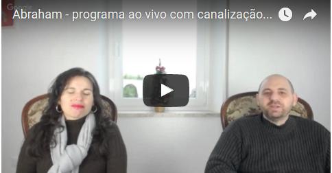 Abraham - programa ao vivo com canalização através Luciana Attorresi - 11.12.2016