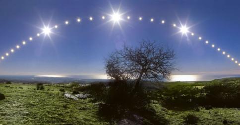 O solstício  de dia 21 de dezembro