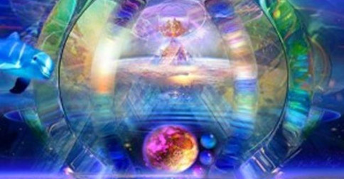 No núcleo de Gaia você encontrará os muitos seres elevados