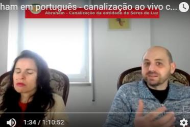 Abraham em português – canalização ao vivo com Luciana Attorresi – 19 de fev 2017