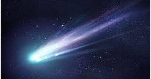 O meteoro 45p que passou e ajudou do processo da liberação de karmas ancestrais
