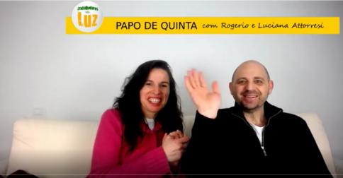 PAPO DE QUINTA com Rogerio e Luciana Attorresi - 16 fevereiro 2017