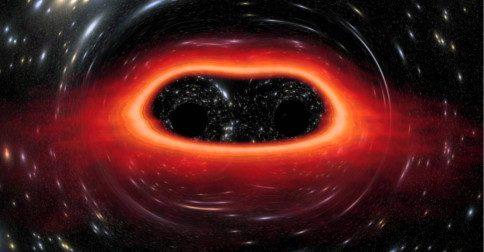Um grande buraco coronal de frente à Terra