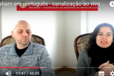 Abraham em português – canalização ao vivo através de Luciana Attorresi 19 março 2017
